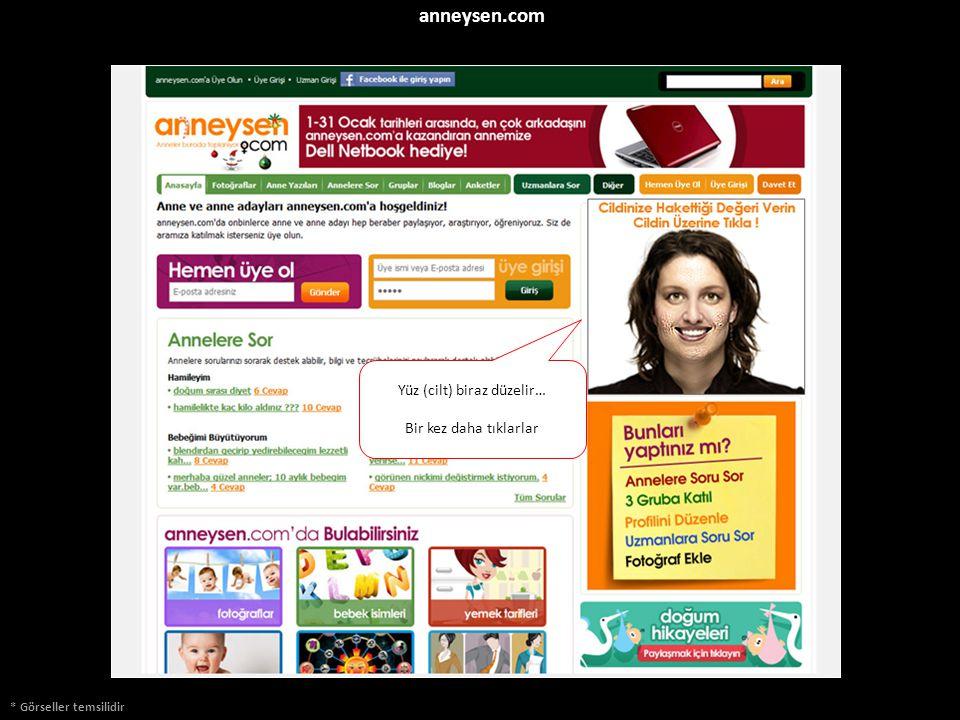 * Görseller temsilidir anneysen.com Yüz (cilt) biraz düzelir… Bir kez daha tıklarlar