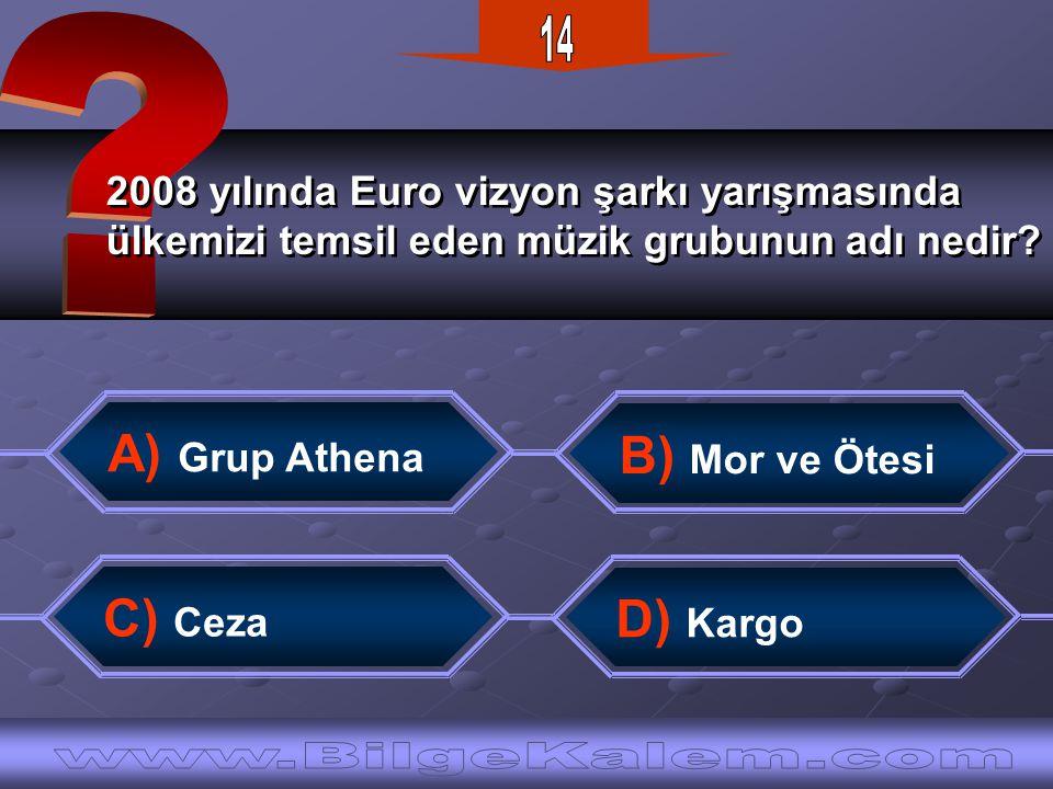 2008 yılında Euro vizyon şarkı yarışmasında ülkemizi temsil eden müzik grubunun adı nedir.