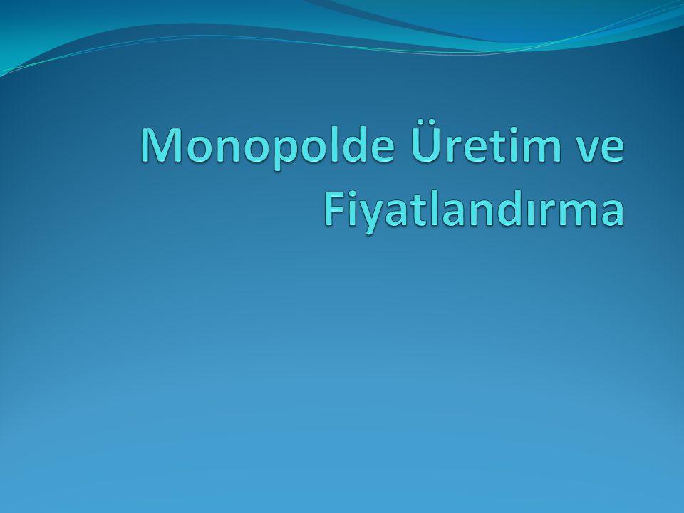 Monopolde uzun dönem dengesi Şekil 12.11, s.284
