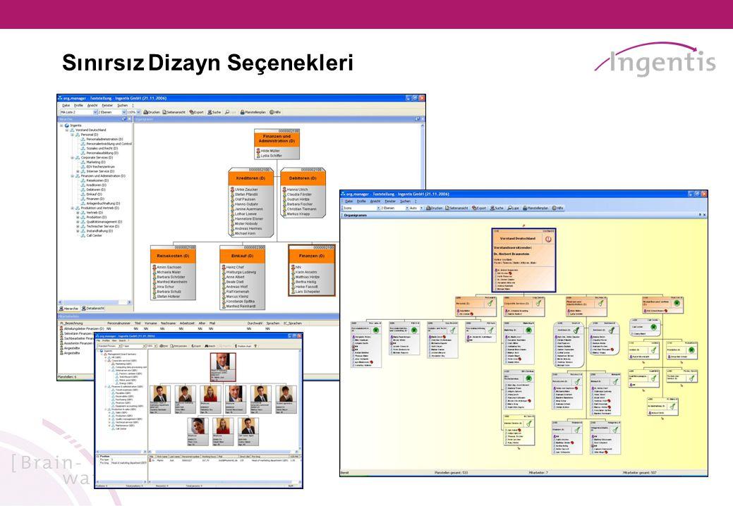 Yeni Versiyon 6.0 - Ekim 2008 Vekalet Planlaması