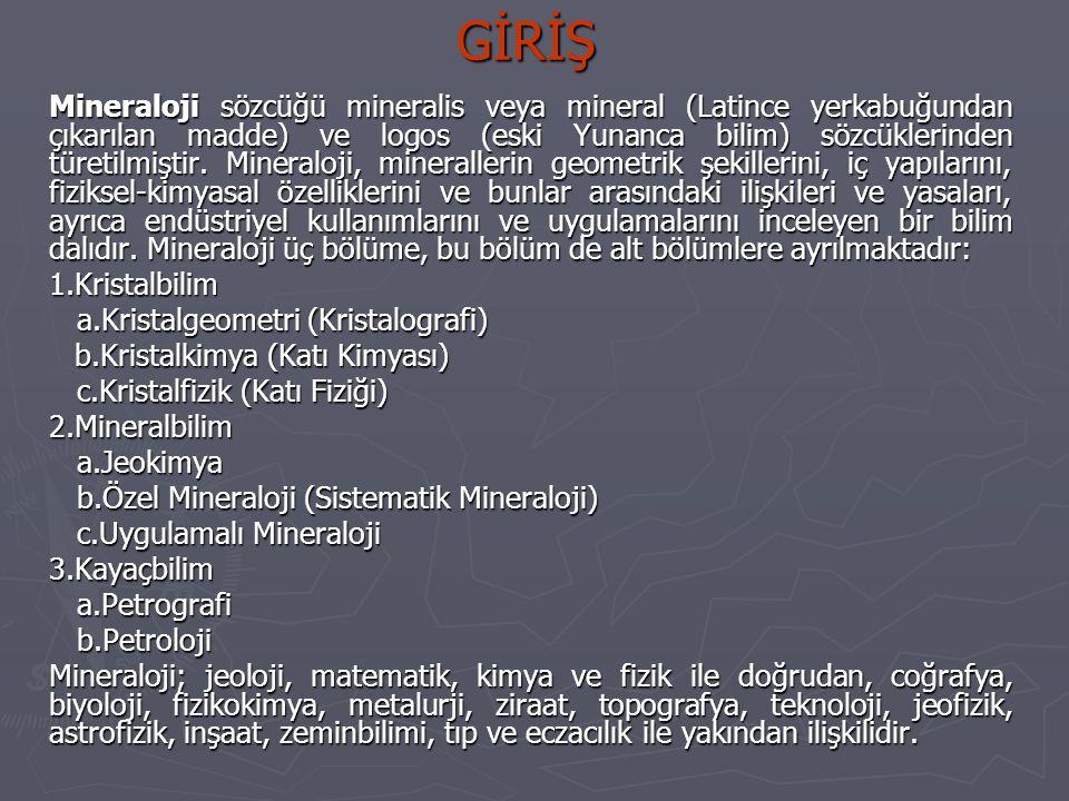 KRİSTALGEOMETRİ 1.