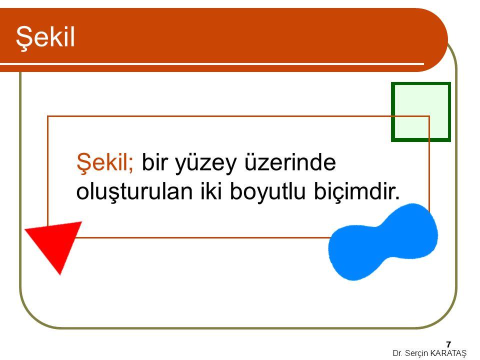 Dr.Serçin KARATAŞ 28 Alıştırma Çemberdeki renklerin tasarımı gözü merkeze odaklamaktadır.