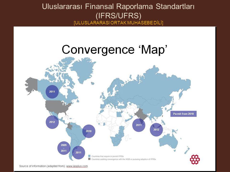 Uluslararası Finansal Raporlama Standartları (IFRS/UFRS) [ULUSLARARASI ORTAK MUHASEBE DİLİ]