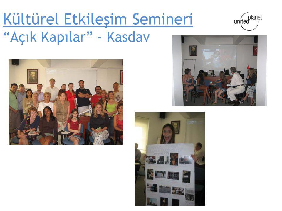 Kültürel Etkileşim Semineri Açık Kapılar - Kasdav