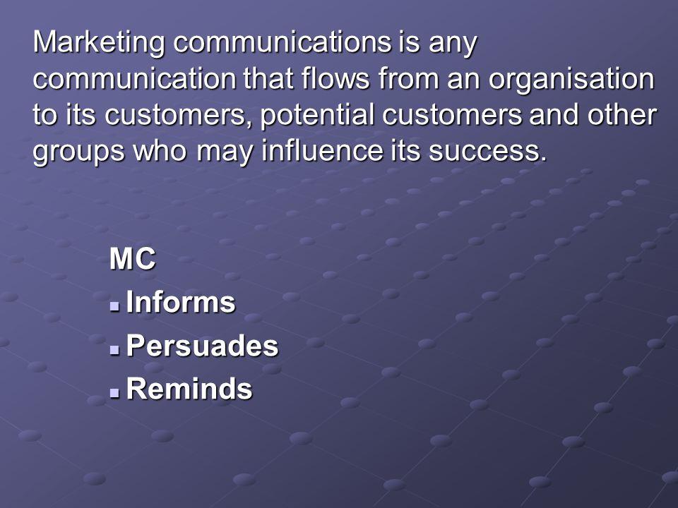 Bütünleşik pazarlama iletişimi pazarlamaya farklı bir açı kazandırmaktadır: Pazarlamanın 4P'si de iletişim öğeleri taşımaktadır.