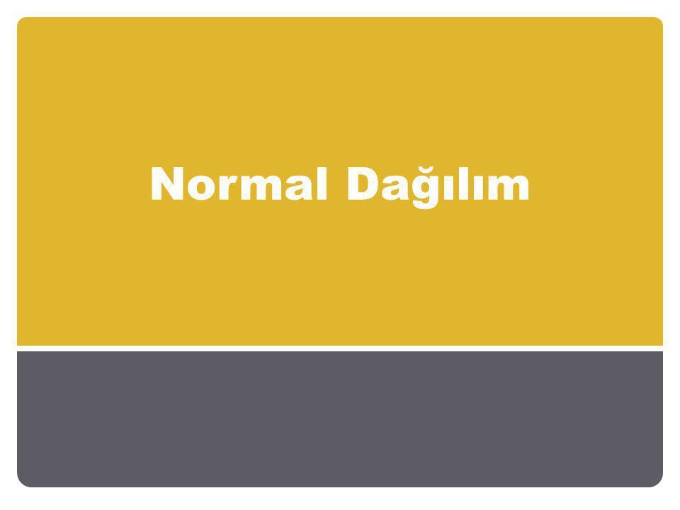 Bu sonsuz sayıdaki normal dağılımı tek bir dağılımla ifade edebilmek için normal değişkenin bir dönüşüme tabi tutulur.