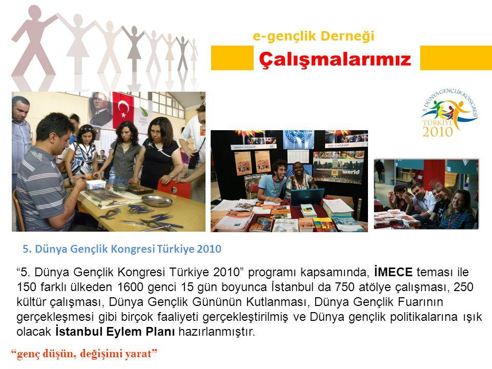 5. Dünya Gençlik Kongresi Türkiye 2010 5.