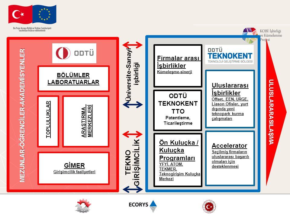 ODTÜ TEKNOKENT TTO Patentleme, Ticarileştirme Ön Kuluçka / Kuluçka Programları YFYİ, ATOM, TEKMER, Teknogirişim Kuluçka Merkezi Accelerator Seçilmiş f