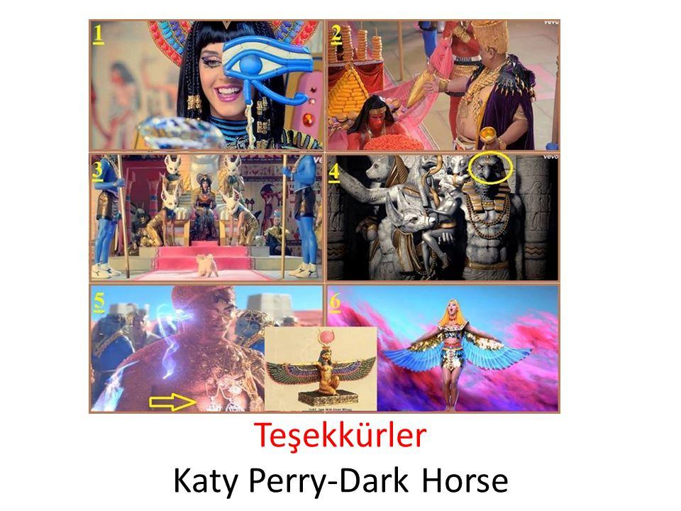 Teşekkürler Katy Perry-Dark Horse