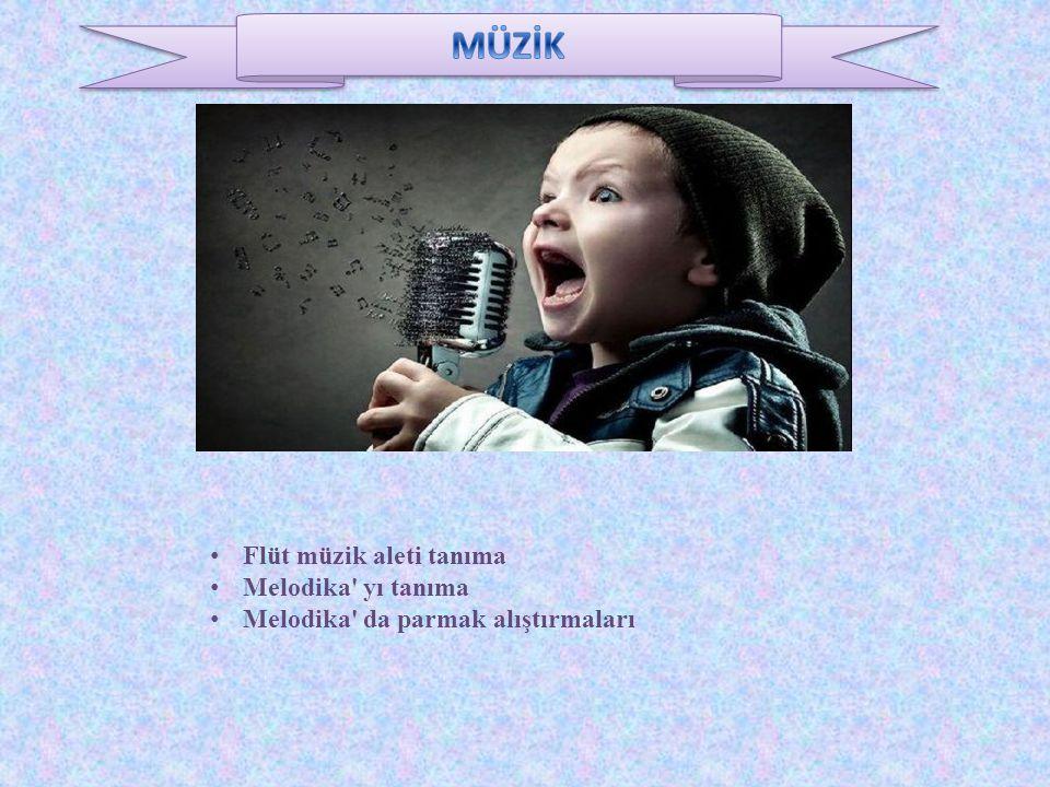 Flüt müzik aleti tanıma Melodika yı tanıma Melodika da parmak alıştırmaları