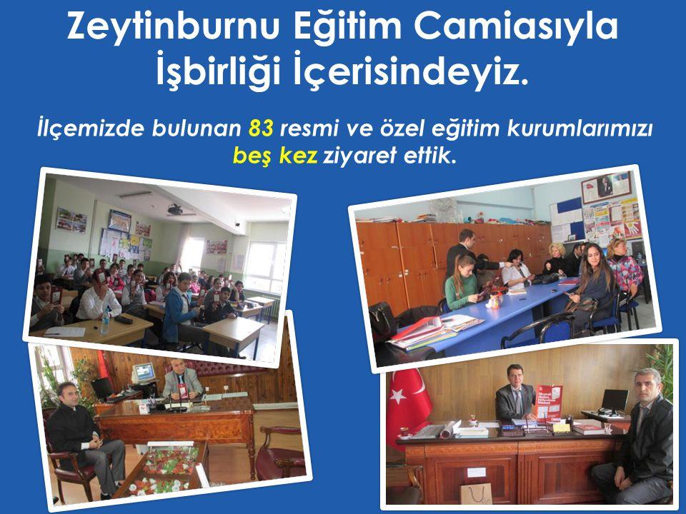 İlçemizde bulunan 83 resmi ve özel eğitim kurumlarımızı beş kez ziyaret ettik.