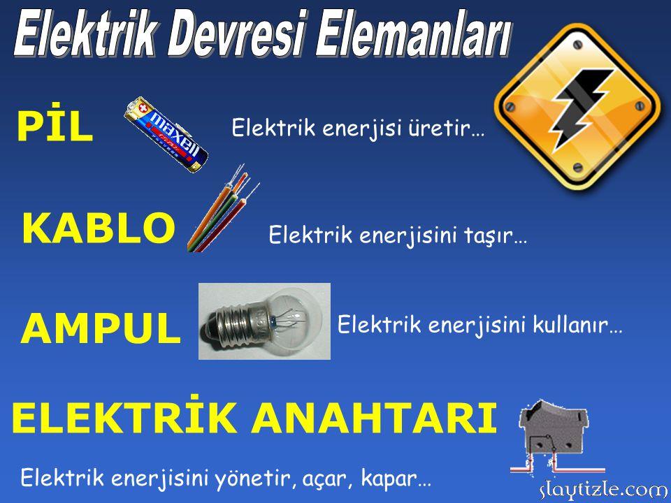 Cihazların temel taşı, elektrik devrelerine, devreyi oluşturan elemanları tanıyarak başlayalım…