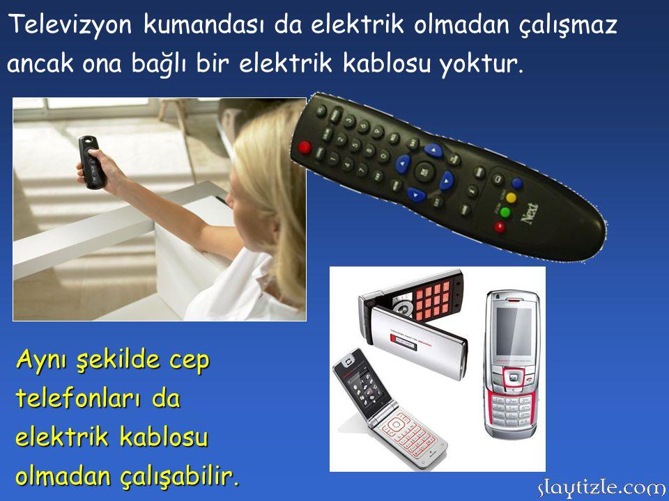 Günlük hayatımızı kolaylaştıran pek çok cihaz elektrik enerjisi ile çalışır. Ancak elektrik her zaman kablo ile cihaza ulaşmak zorunda değildir.