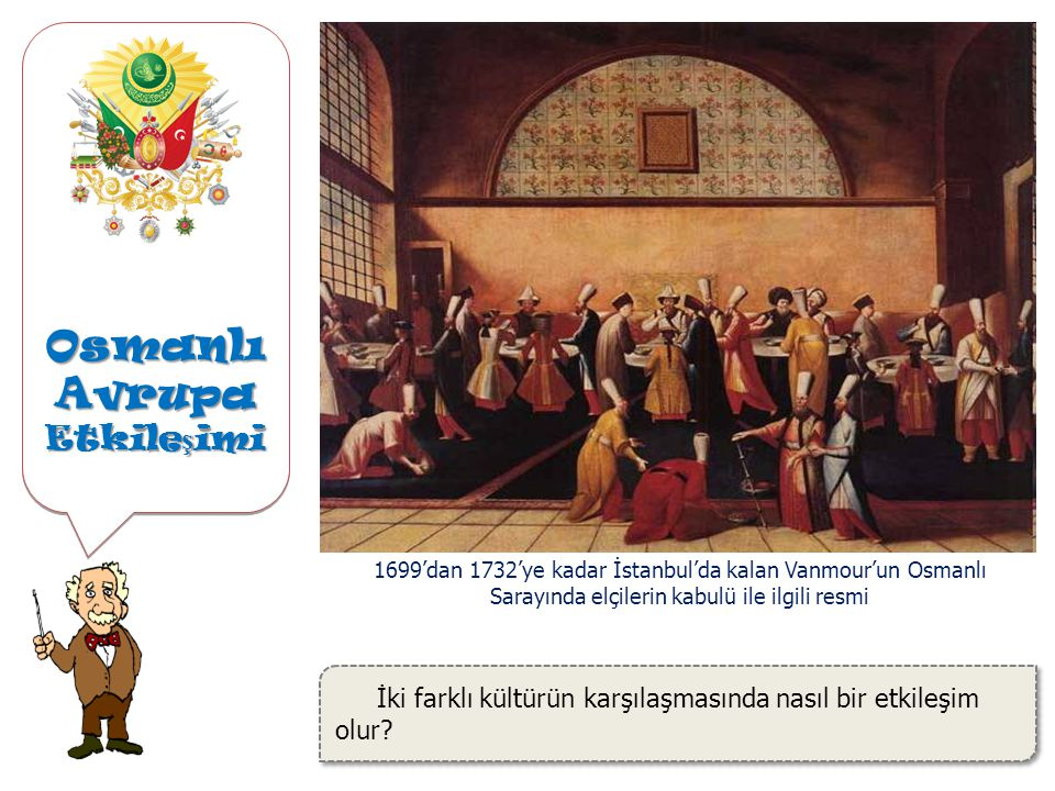 Osmanlı Avrupa Etkile ş imi İki farklı kültürün karşılaşmasında nasıl bir etkileşim olur.