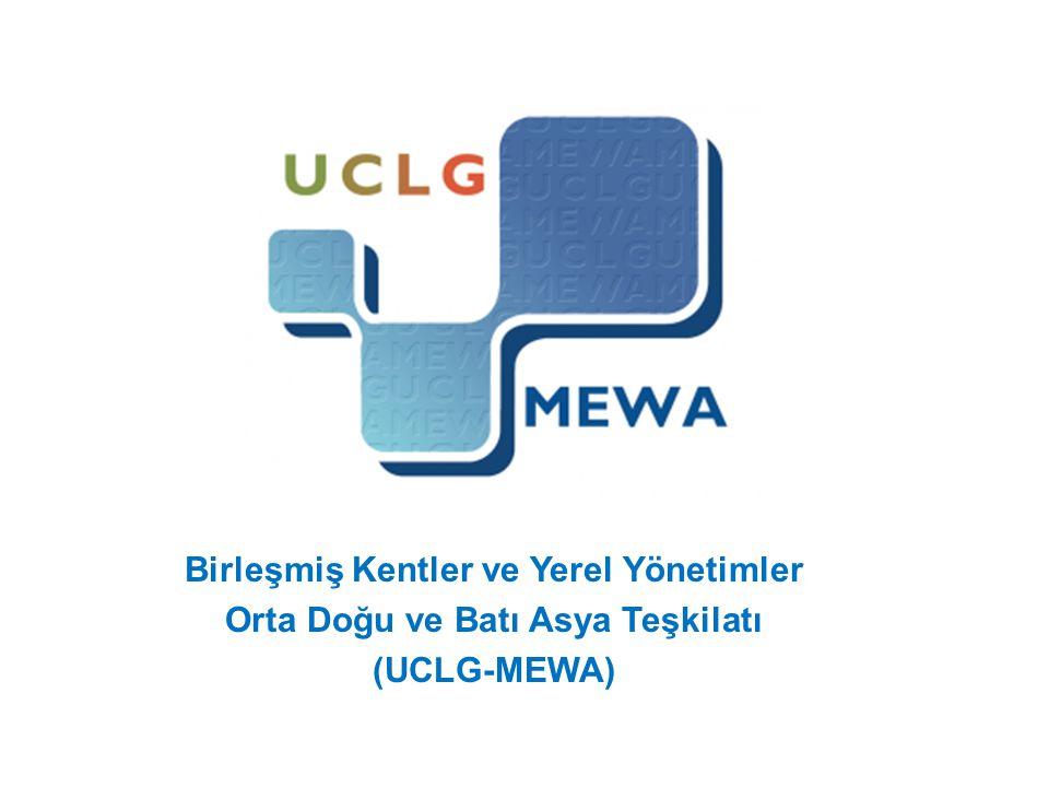 Kent Konseyleri UCLG-MEWA ve İçişleri Bakanlığı Mahalli İdareler Genel Müdürlüğü arasında imzalanan protokole göre Kent Konseylerinin mali işlemlerinin yürütme yetkisi UCLG- MEWA'ya verilmiştir.