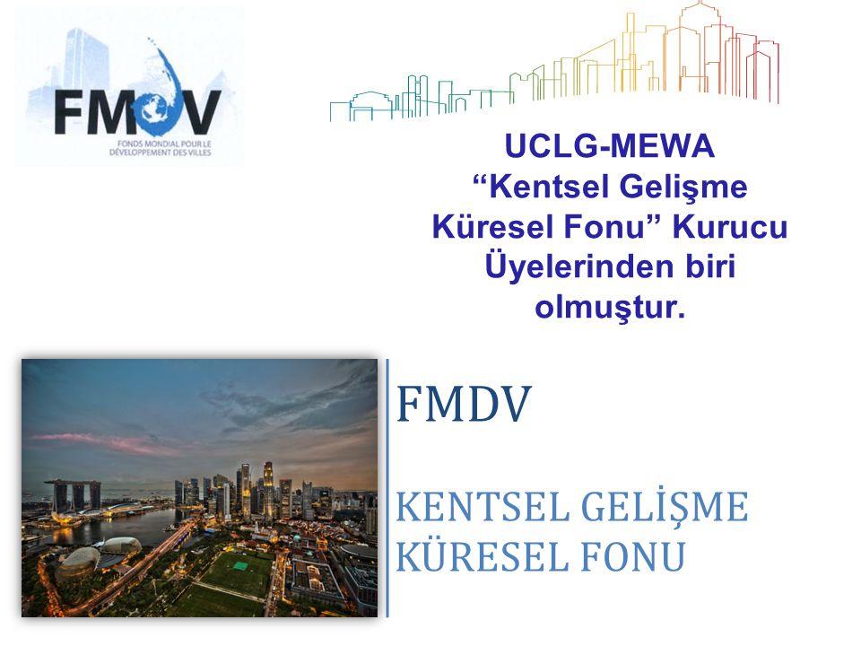 UCLG-MEWA Kentsel Gelişme Küresel Fonu Kurucu Üyelerinden biri olmuştur.