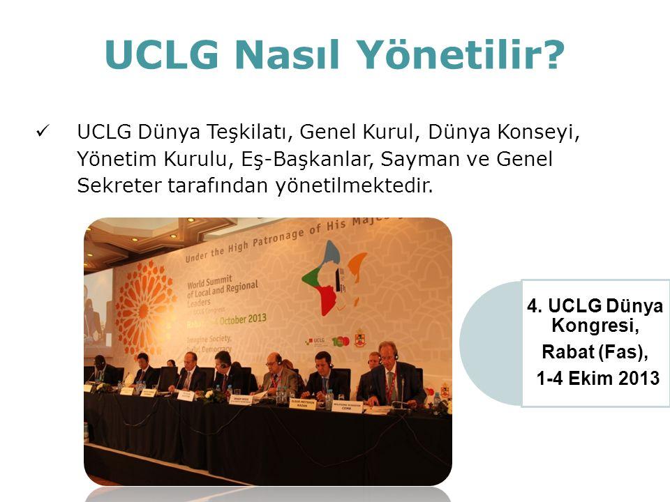 UCLG Nasıl Yönetilir? UCLG Yönetim Kurulu Toplantısı, Liverpol (İngiltere), 17-19 Haziran 2014