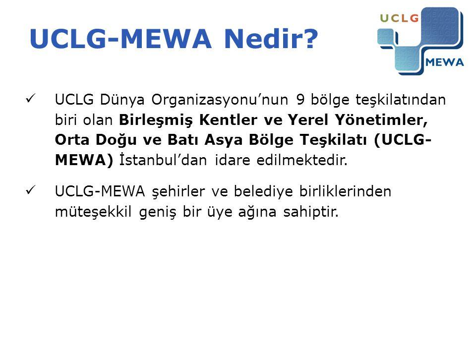 Birleşmiş Kentler ve Yerel Yönetimler Orta Doğu ve Batı Asya Bölge Teşkilatı (UCLG-MEWA) olarak, düzenlediğimiz Yerel Yönetim Söyleşileri ile yerel yönetim aktörleri ve akademisyenleri buluşturmayı hedeflemekteyiz.