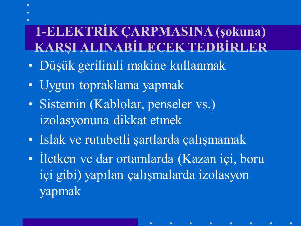 4-KAYNAK IŞINLARI Oksi-asetilen kaynağındaki kaynak ışınları elektrik kaynağına oranla daha azdır ve etkisizdir.