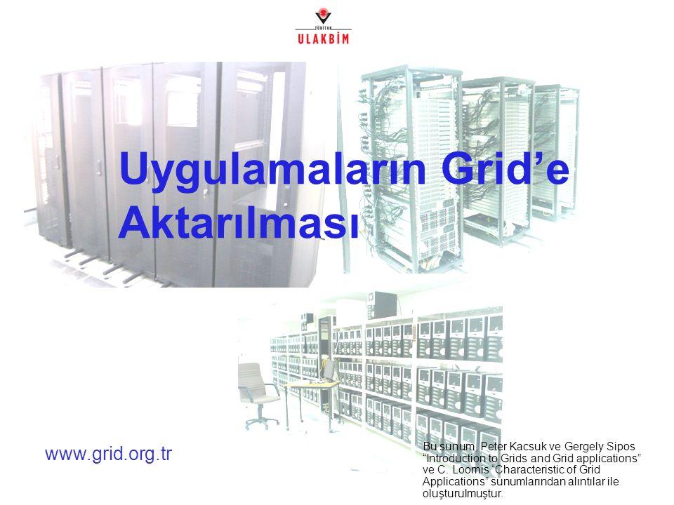 Akademik Bilişim 2007, Dumlupınar Üniversitesi2/32 Neden Grid.