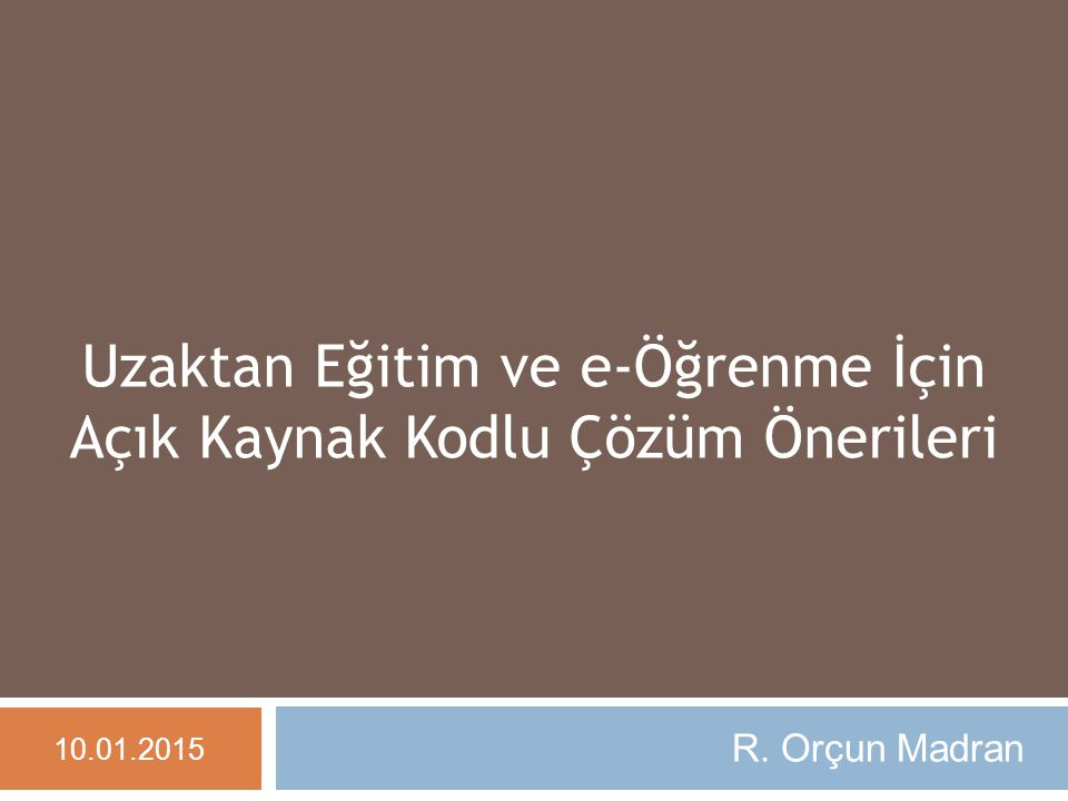 Sohbette Anlık Çeviri 10.01.2015 orçun madran - www.madran.net 22