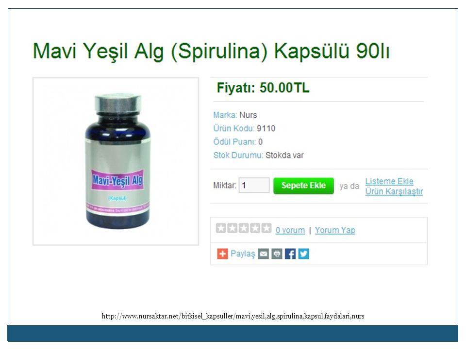 http://www.nursaktar.net/bitkisel_kapsuller/mavi,yesil,alg,spirulina,kapsul,faydalari,nurs
