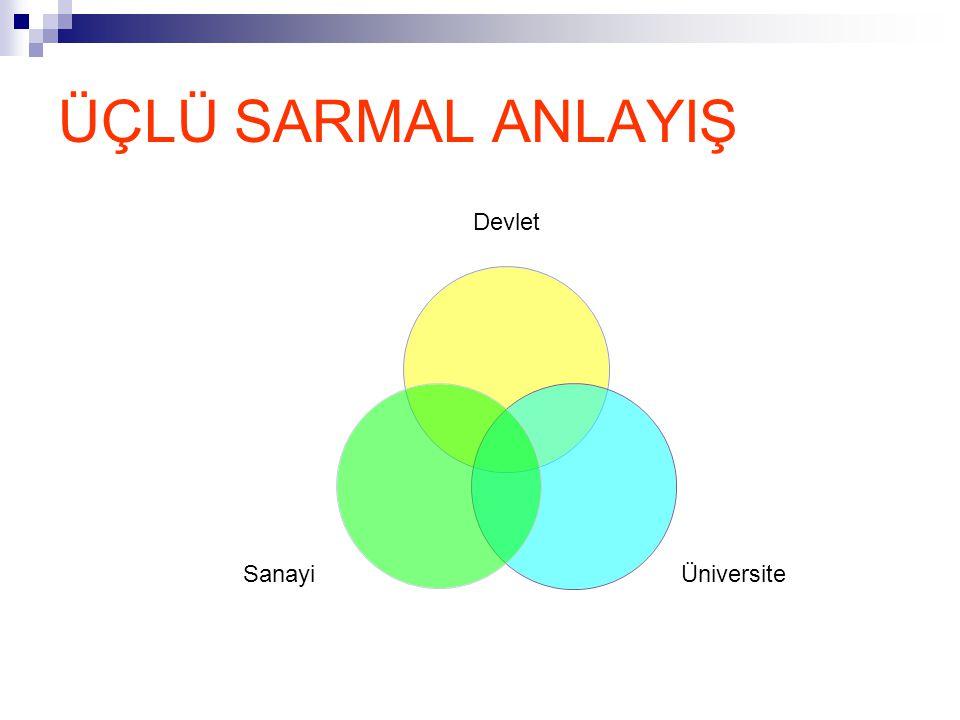 ÜÇLÜ SARMAL ANLAYIŞ Devlet ÜniversiteSanayi
