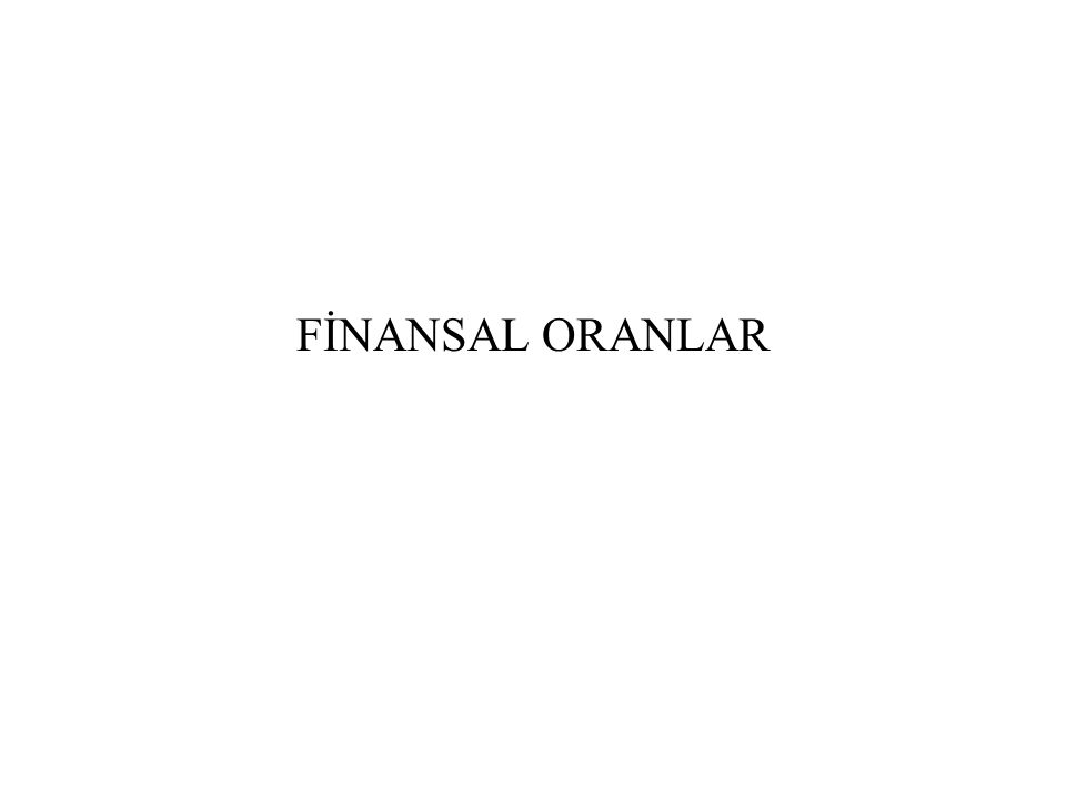 5) Uzun Vadeli Borçlar/Toplam Kaynaklar Oranı Bu oran işletmenin yüzde kaçının uzun vadeli borçlarla finanse edildiğini gösterir.