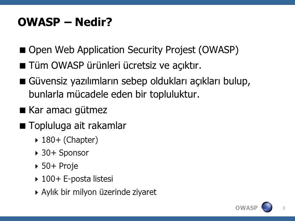 OWASP 3 OWASP – Nedir.