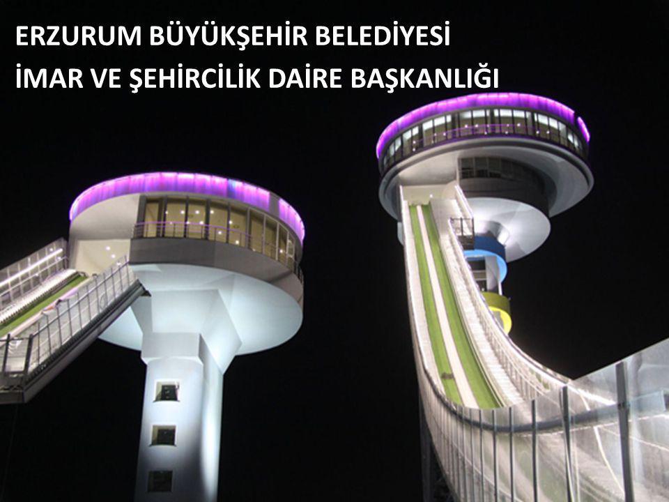 ERZURUM CBS ÇALIŞMALARI Erzurum Büyükşehir Belediyesi olarak coğrafi bilgi sistemleri çalışmalarına başlamış ve MAKS veri tabanına geçmek için çeşitli alt yapı çalışmalarını sürdürmekteyiz.