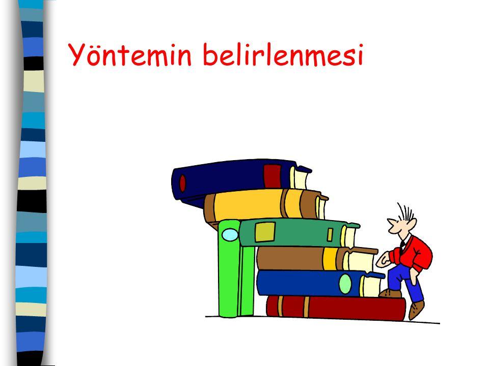 3-Kaynak tarama: Projenin konusu ile ilgili bilgiler; kitaplar, makaleler, bildiriler, tezler, dergiler, ansiklopediler v.b. yazılı kaynaklardan, inte