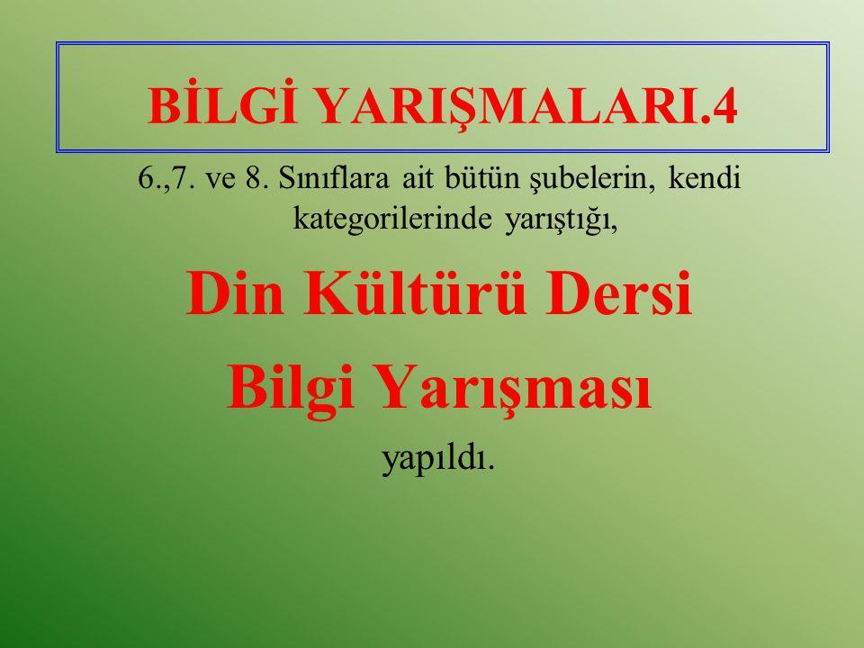 PEYGAMBER(SAV)'E MEKTUP YAZMA YARIŞMASI (2005).