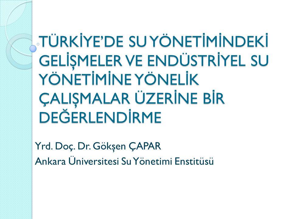 Su Fakirlik İ ndeksi: Türkiye 78.sırada 1.