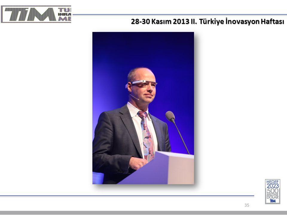 28-30 Kasım 2013 II. Türkiye İnovasyon Haftası 35