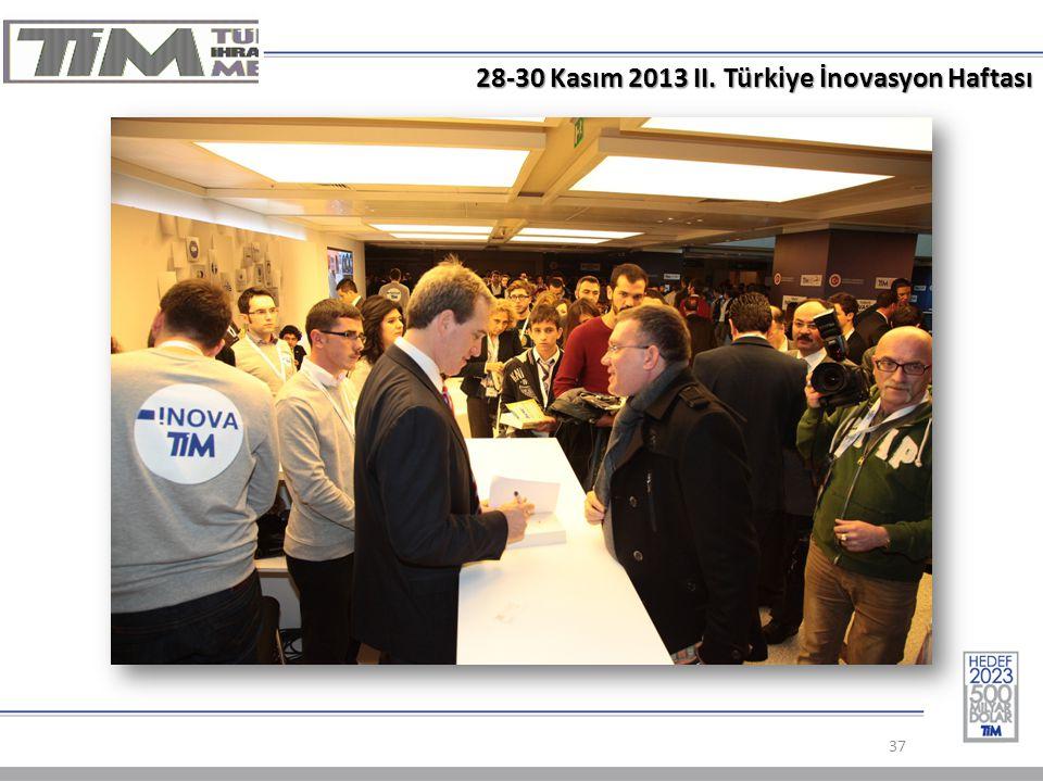 28-30 Kasım 2013 II. Türkiye İnovasyon Haftası 37
