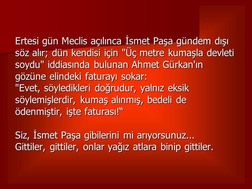 YIL 1922, Kurtuluş Savaşı nın meclisi, İçişleri Bakanı Fethi Okyar.