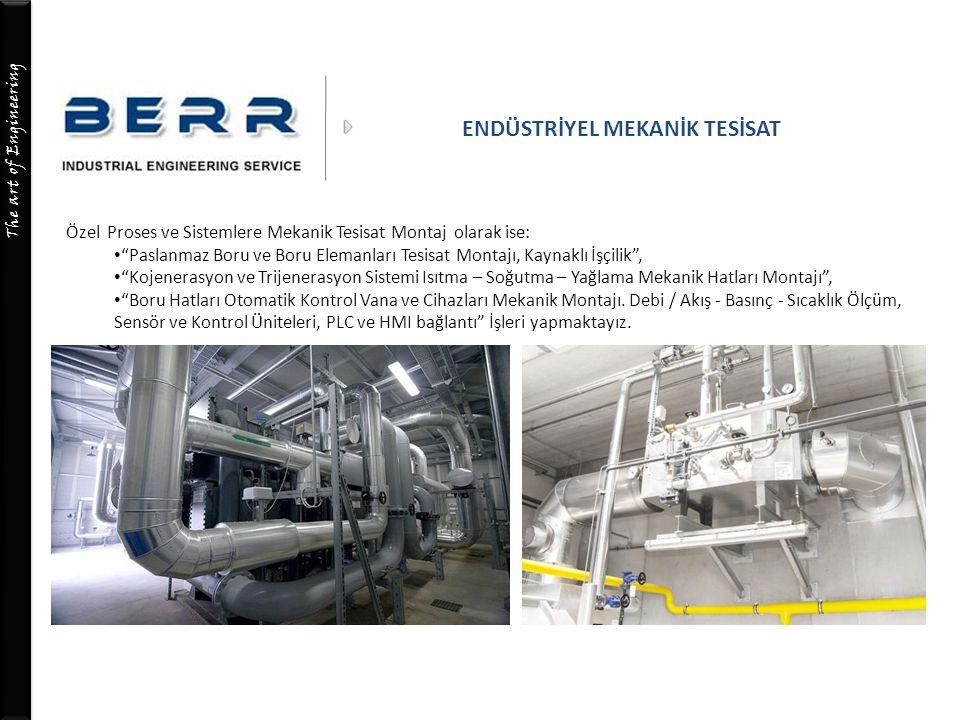 The art of Engineering MEKANİK TESİSAT ELEMANLARI