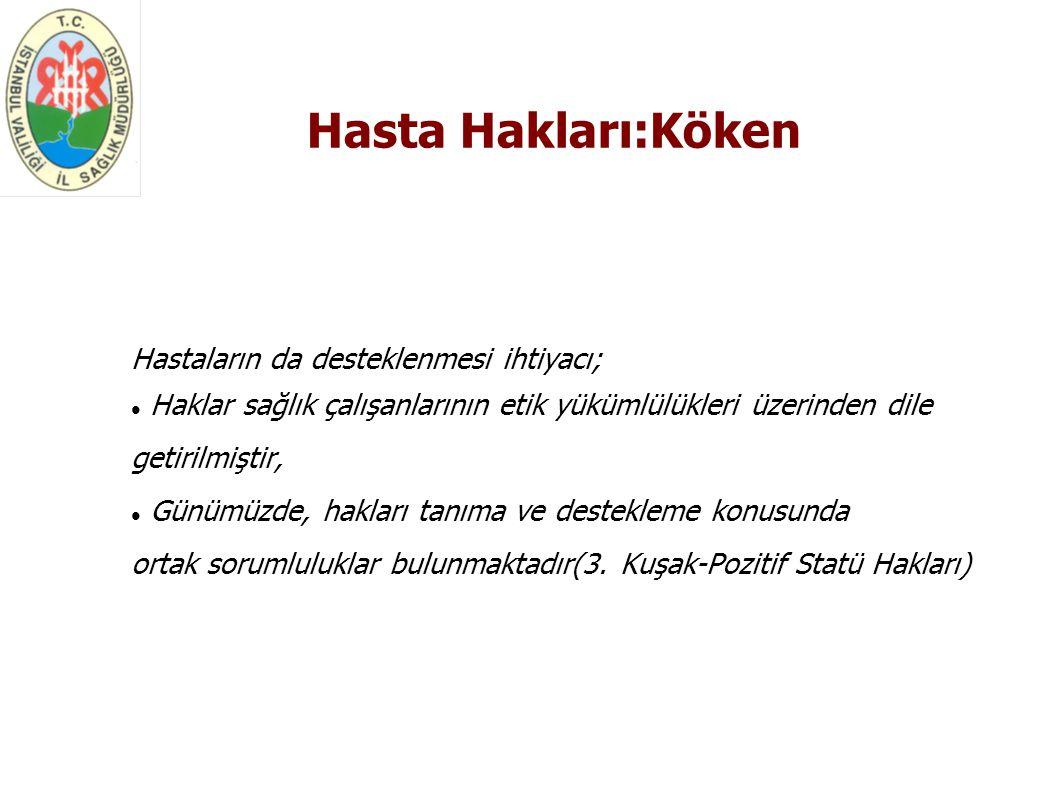 İnsan Hakları:Sınıflama 1.
