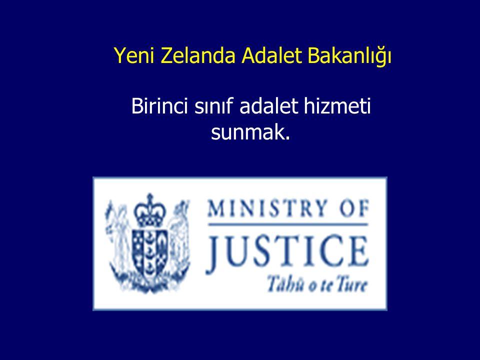 Yeni Zelanda Adalet Bakanlığı Birinci sınıf adalet hizmeti sunmak.