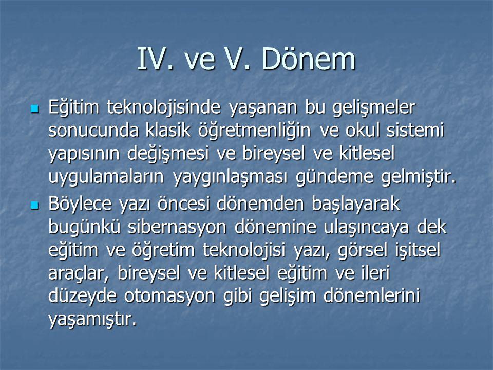 IV.ve V.
