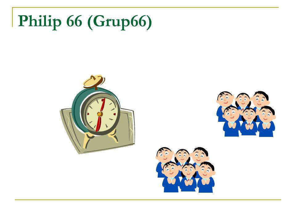 Küçük Grup Tartışması  Büyük grupların, küçük gruplara bölünmesiyle gerçekleştirilir.