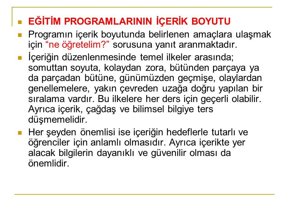 Örnek HedeflerDuyuşsal Alan 1. Turizmin ülke kalkınmasındaki etkisinin farkında olma 2. Türkiye'nin sorunlarına karşı duyarlı olma 3. Eğitim ve öğreti