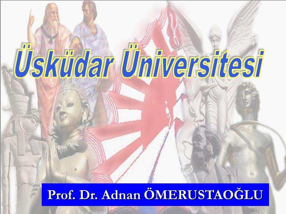 Prof. Dr. Adnan ÖMERUSTAOĞLU