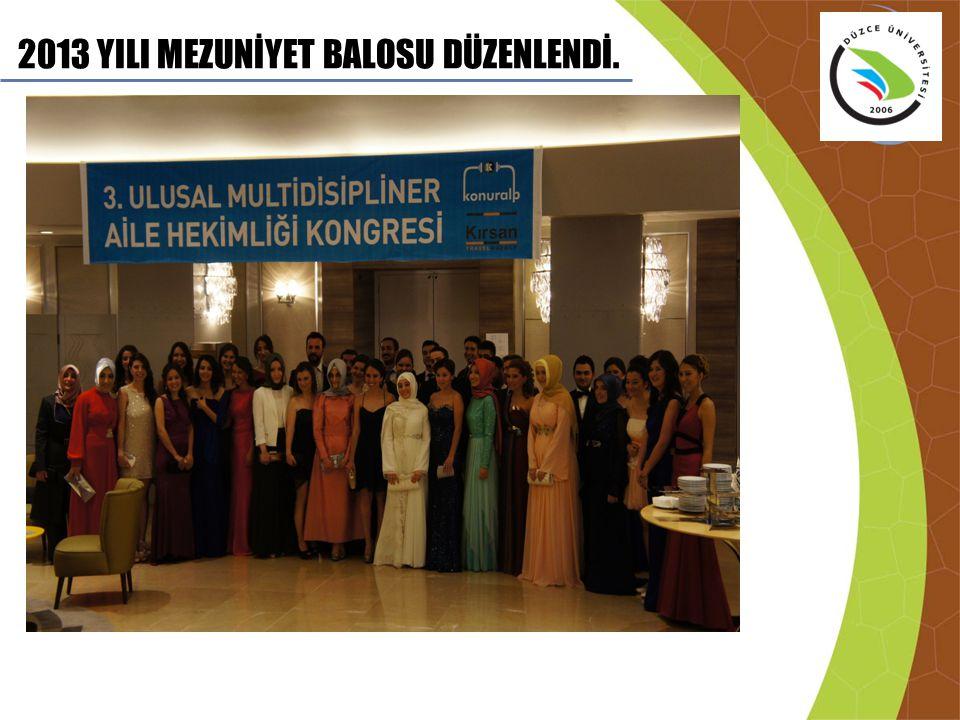 2013 YILI MEZUNİYET BALOSU DÜZENLENDİ.