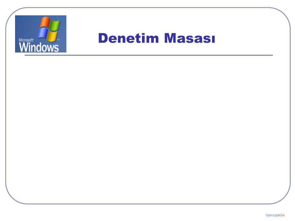 Uzantı Açıklama Txt -- Metin dosyaları Bmp -- Resim dosyaları Jpg -- Resim dosyaları Doc -- Microsoft Word dosyaları Xls -- Microsoft Excel dosyaları