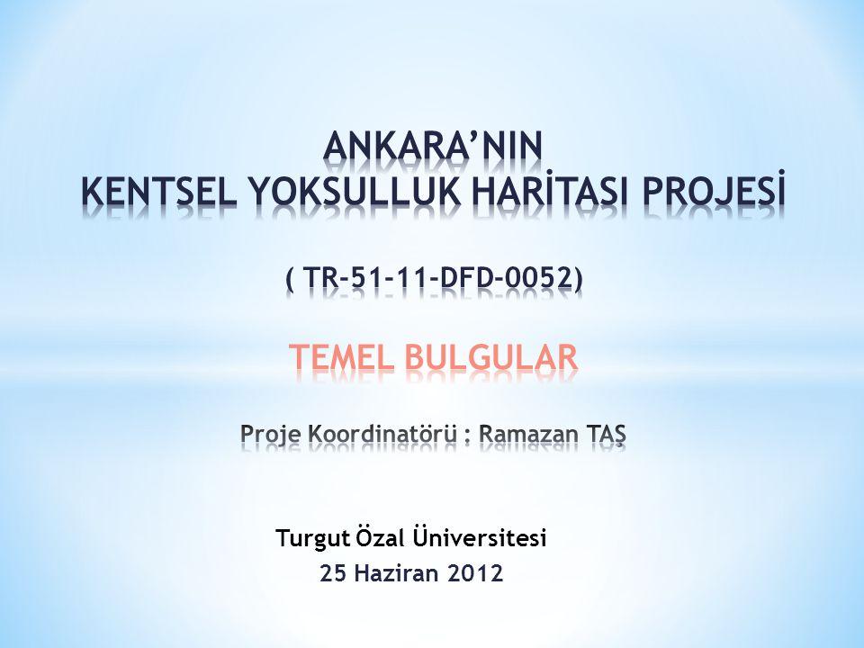 RAMAZAN TAŞ * 2012 * TURGUT ÖZAL ÜNİVERSİTESİ 2 1.