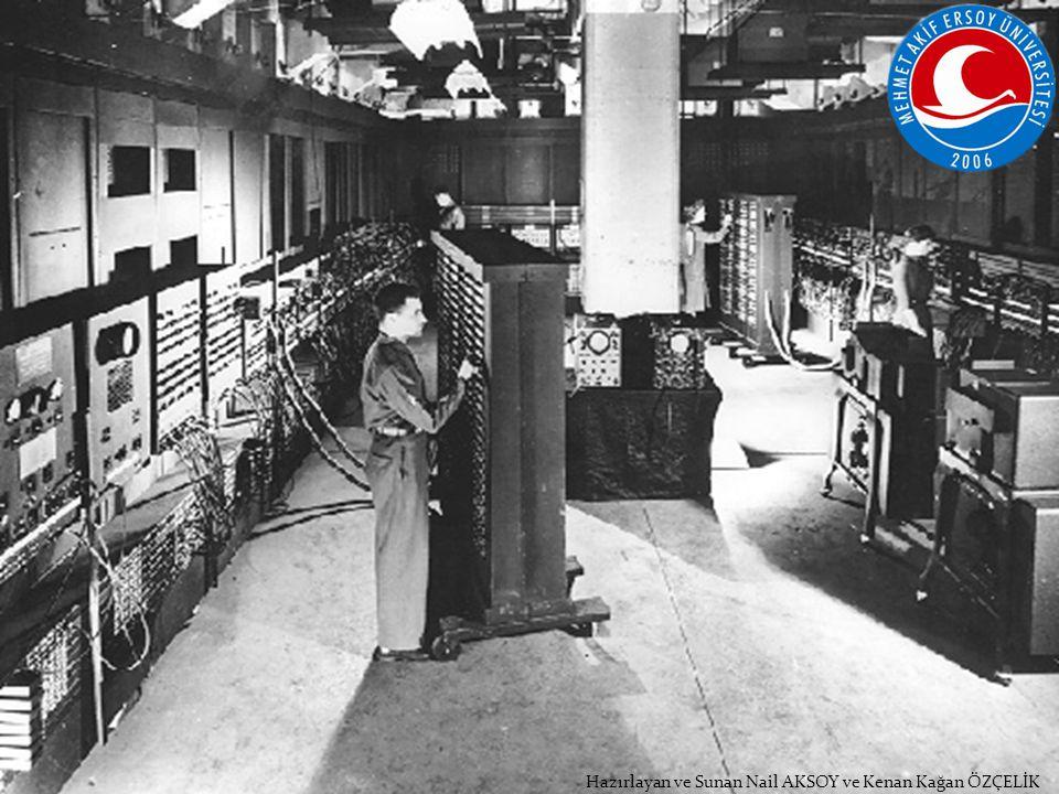 Hazırlayan ve Sunan Nail AKSOY ve Kenan Kağan ÖZÇELİK Hesap makinesi sayılabilecek ilk ciddi icat Fransız matematikçi Blaise Pascal tarafından geliştirilmiştir.