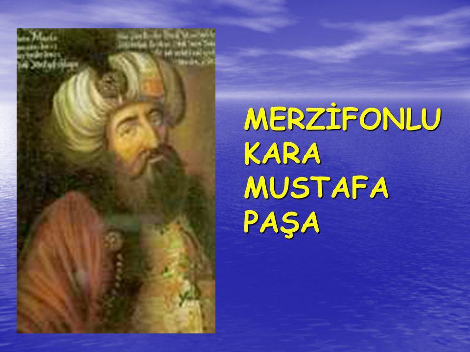 MERZİFONLU KARA MUSTAFA PAŞA
