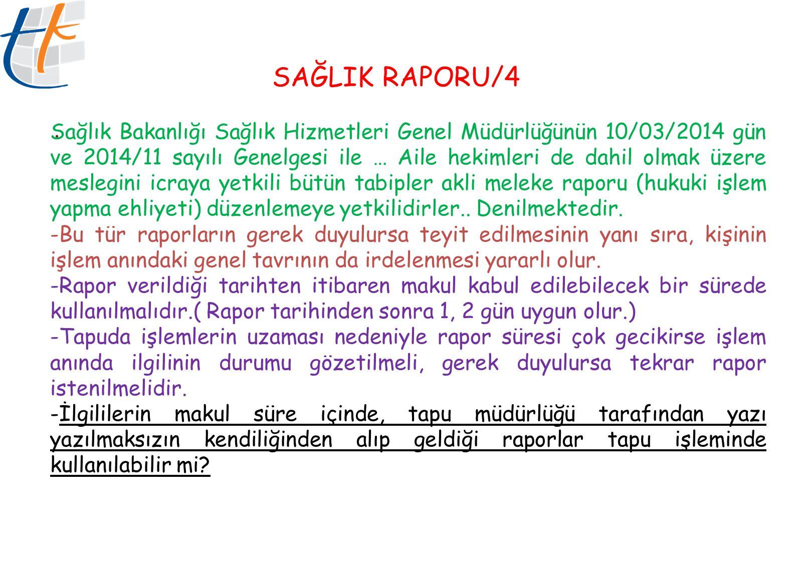 SAĞLIK RAPORU/4.