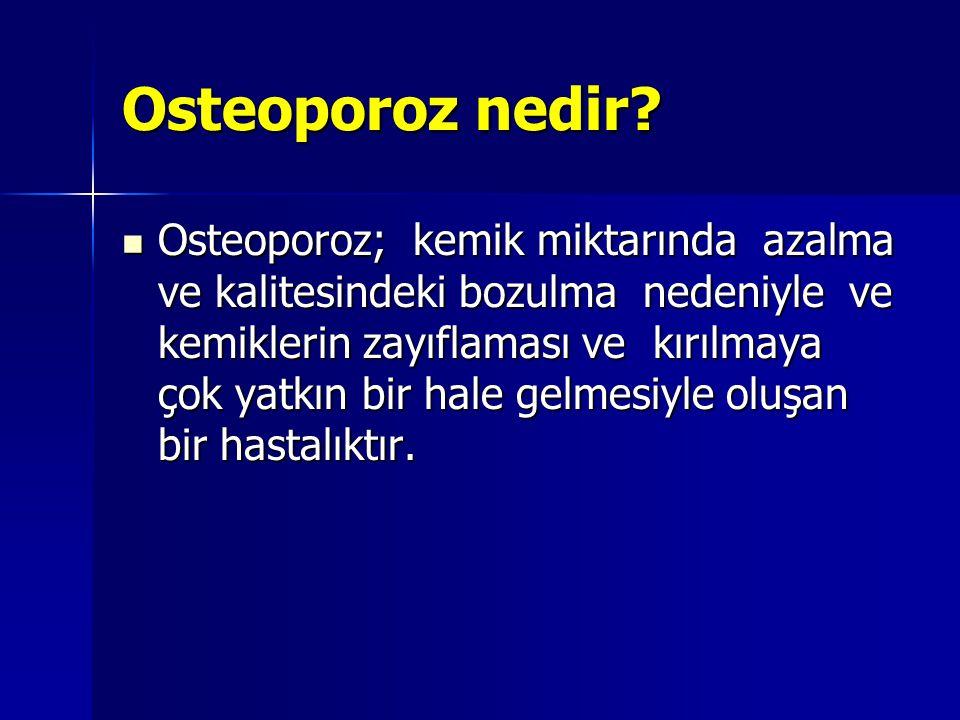 Osteoporoz nedir.